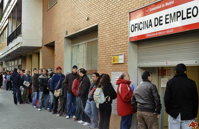 There are more people without jobs in Spain than in the run up to the Nazi-regime in Germany.
