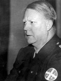 Norwegian Nazi-leader Vidkun Quisling.