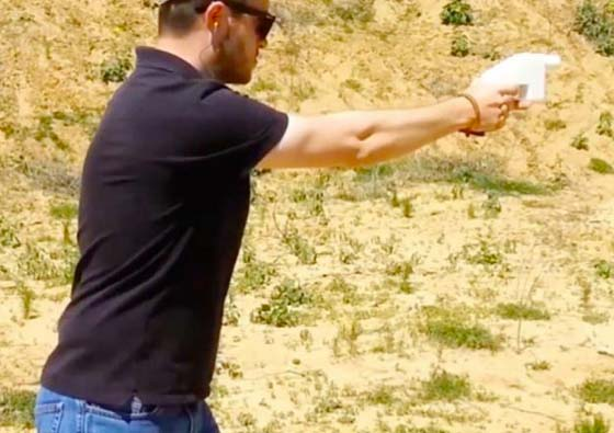 A young man from Texas has made the ultimate weapon for the video-game killers.