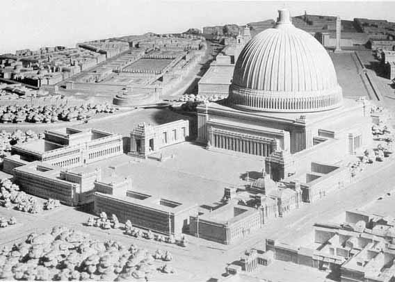 Hitler wanted to move the Temple mount to Berlin, and change Berlin to the eternal city Germania.