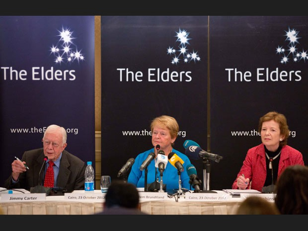 The self styled group of elders curse the Jewish people.