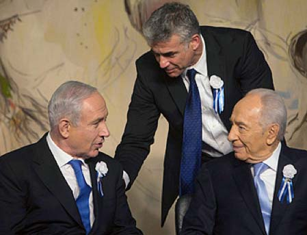 The final trap is being laid for the the state of Israel. Netahyahu, Yatid and Peres have all started to copy the lies.