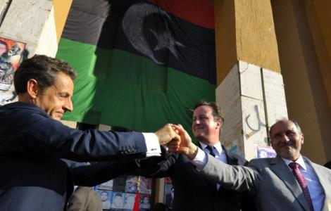 Damiv Cameron and Nicolas Sarkozy fighting hard to spread Islam.
