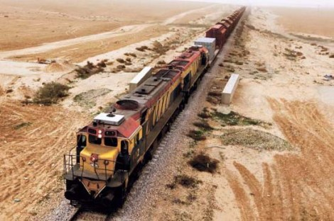 The new railway in the Negev will be the final solution to the Jewish problem.