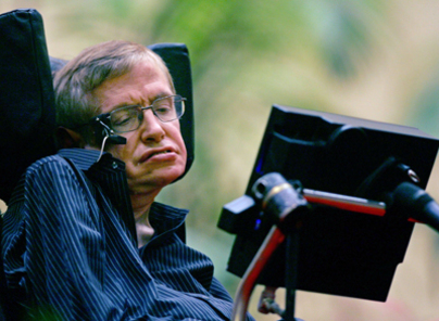 Stephen Hawkings communicate with technology invented in Israel.