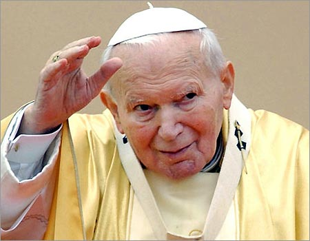 "The late Pope is on his way to ""sainthood"" based on pure blasphemy against God."