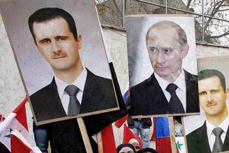 How long will Russia and Putin support the Assad regime in the War with Saudi Arabia, Egypt and USA?