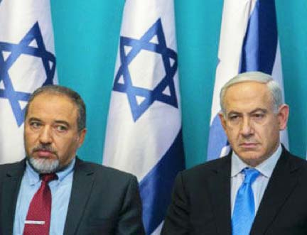 Avigdor Lieberman speak more bolder than Benjamin Netanyahu in regards to Gaza.