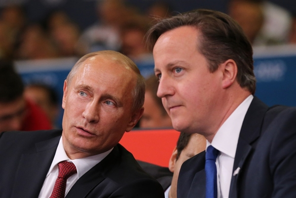 Russia is helping a dictator fight off barbarian cannibals supported by David Cameron.