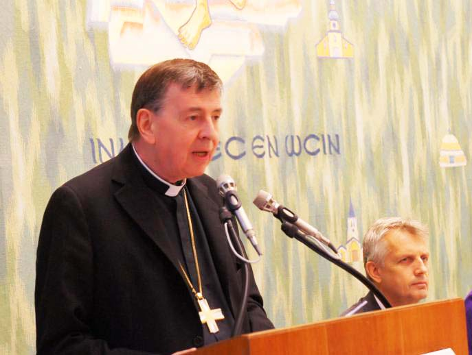 Cardinal Kurt Koch leads all Lutherans down the road towards the gates of Hell.