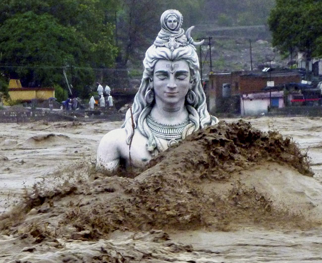 Not even Shiva could rescue him self from the wrath of God of the Bible.