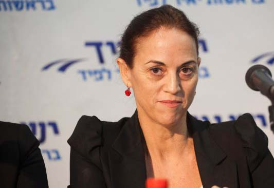 MK Ruth Calderon fights for the Knesset to pass a bill that will make Israel a Jewish statehood.