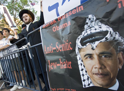 The large majority of Jews have been able to discern Barack Hussein Obama.