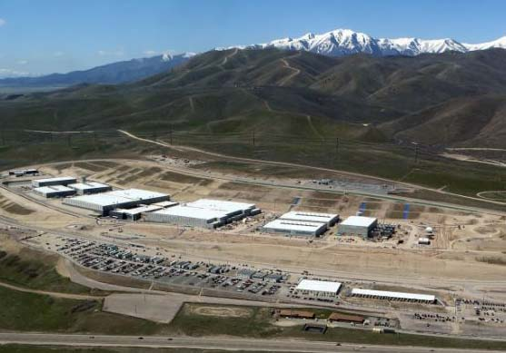 The new Global electronic spy center of Hussein Obama is located in Utah.
