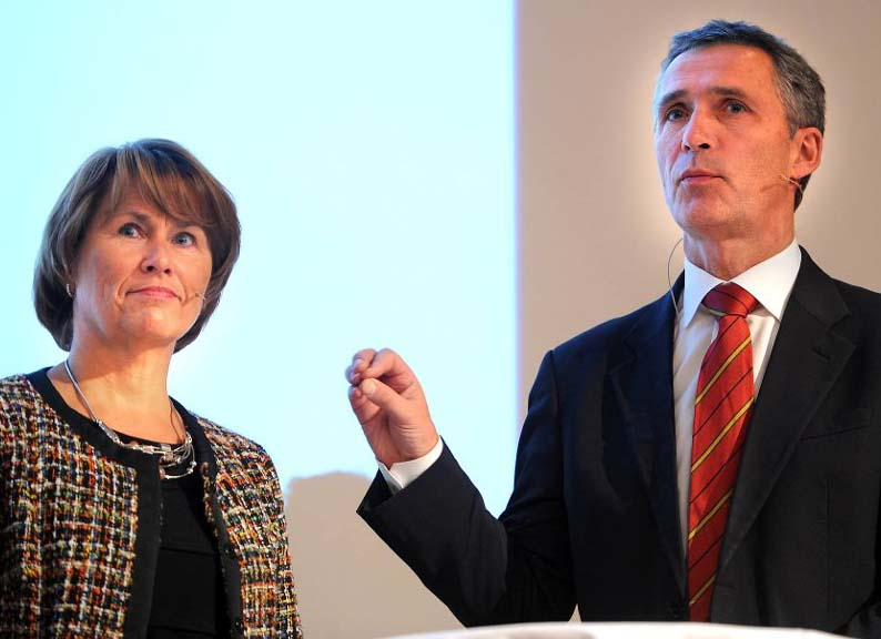 The Norwegian Prime Minister lead a corrupt regime, together with Minister of Justice Grete Faremo.