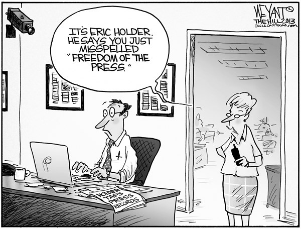 Do you mind having a free press, and freedom of expression.