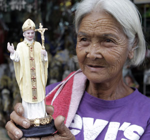 Pope Benedict XVI has already come up for sale.