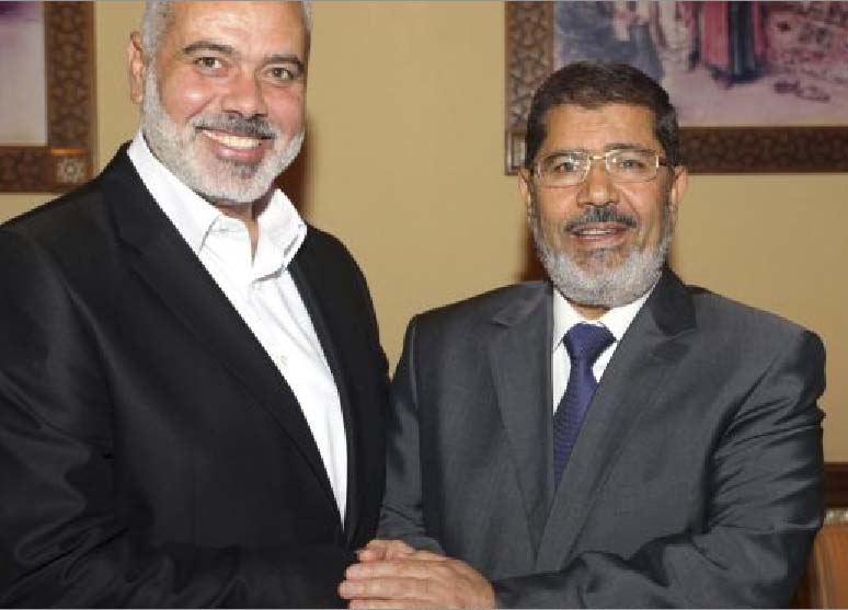 Withe the removal of Muhammad Morsi, the Hamas has lost an brother in arms.