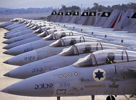 "Israeli jets can not fly through US ""no fly zones"" on the way to Iran."