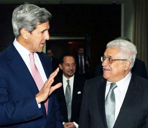 John Kerry have had a hard time to make Abbas do as Washington desire.