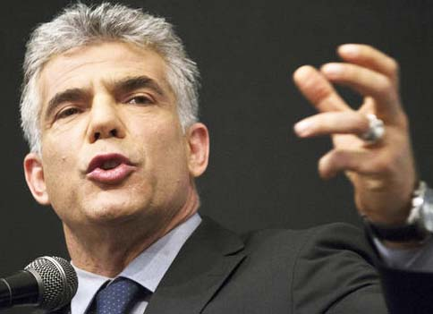 Yair Lapid took a hit at Ultra Orthodox members of Knesset, and spoke about the Messiah.