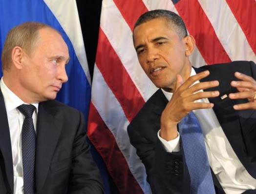 Obama tries to remind Putin how effective he was as a KGB colonel.