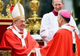 Archbishop Joseph Marino represent Poppe Francis in Malaysia.