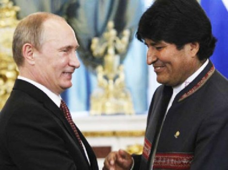 Vladimir Putin and Evo Morales is both defenders of the human rights of Edvard Snowden, denied in the USA.