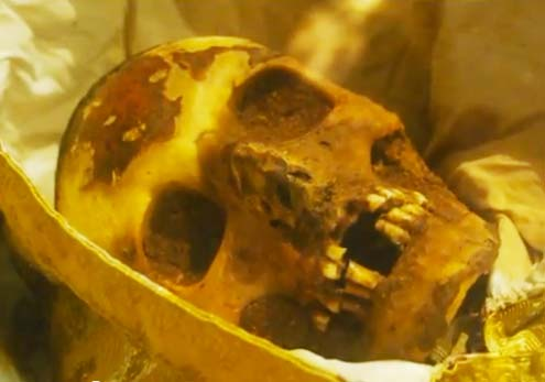 This skull in Spain do look very corruptible to me.