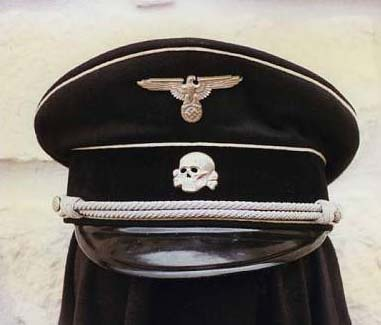 All Waffen SS Officers Had A Skull As Their Idol On Cap