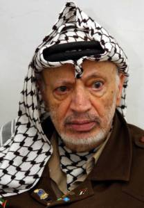 Those who supported Arafat, supported the antisemitism of Muhammad.