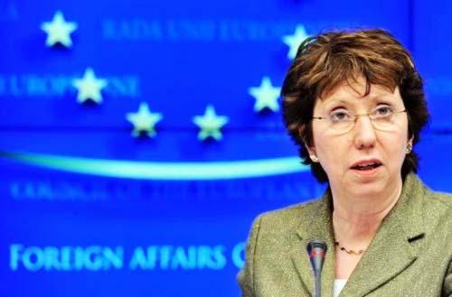 Cathrine Ashton leads a new European rebellion against God, now siding with Islam.