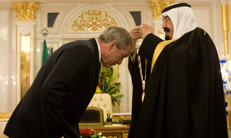 George W. Bush could not attack his Order brother, the king of the Saudis.