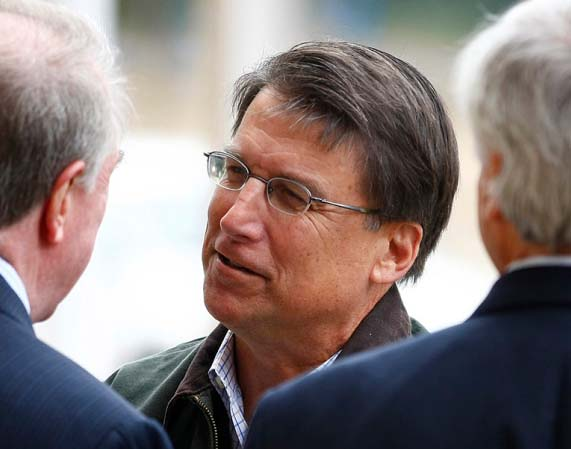 Gov. Pat McCrory is a brave man, resiting the pressure from Washington D.C.