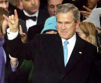 W. Bush once admitted he was a member, but claimed he did not pat to much attention.