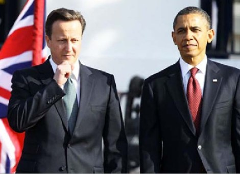 David Cameron seems to be unable to discern the US leader, supporting Islamic Jihad.