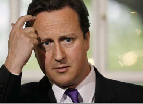 Giving cover for the crimes of Obama is not the smartest thing David Cameron has done.