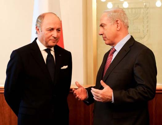 Laurent Fabius  and Netanyahu is living in two different universes. One discerning Islam, the other supporting Islam.