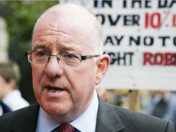 Fine Gael chairman Charlie Flanagan.