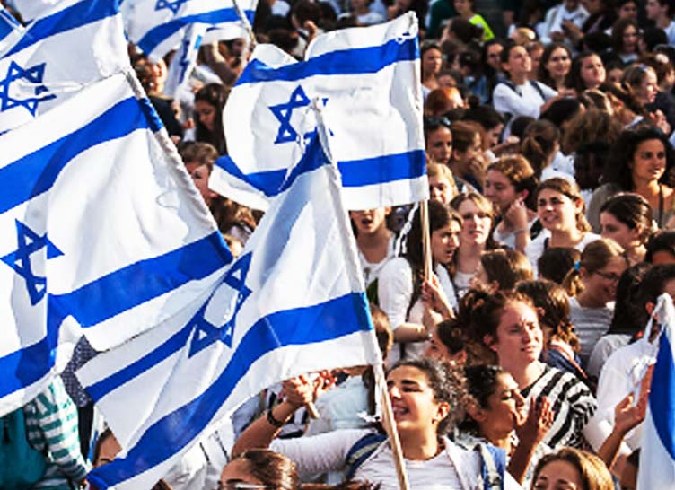 The support for Biblical Zionism seems to be on the back foot in Israel.