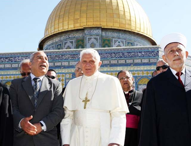 The Papacy has always struggled hard to get control over important buildings in Jerusalem.