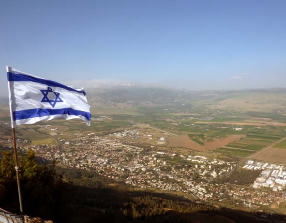 The last war between men and God will take place on the mountains of Zion.