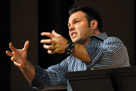 Pastor Mark Driscoll warns about Christians turning lukewarm.