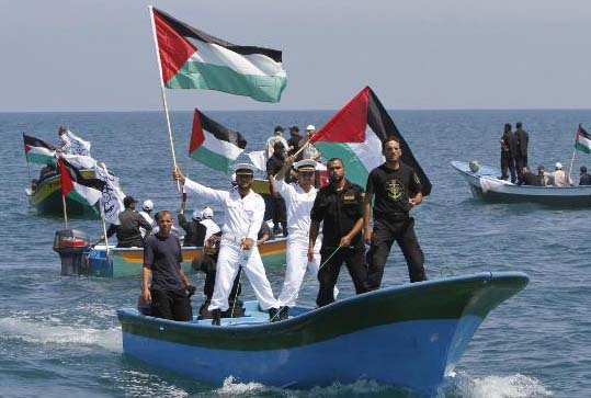 The capability of the present navy of the Hamas is less than impressive.