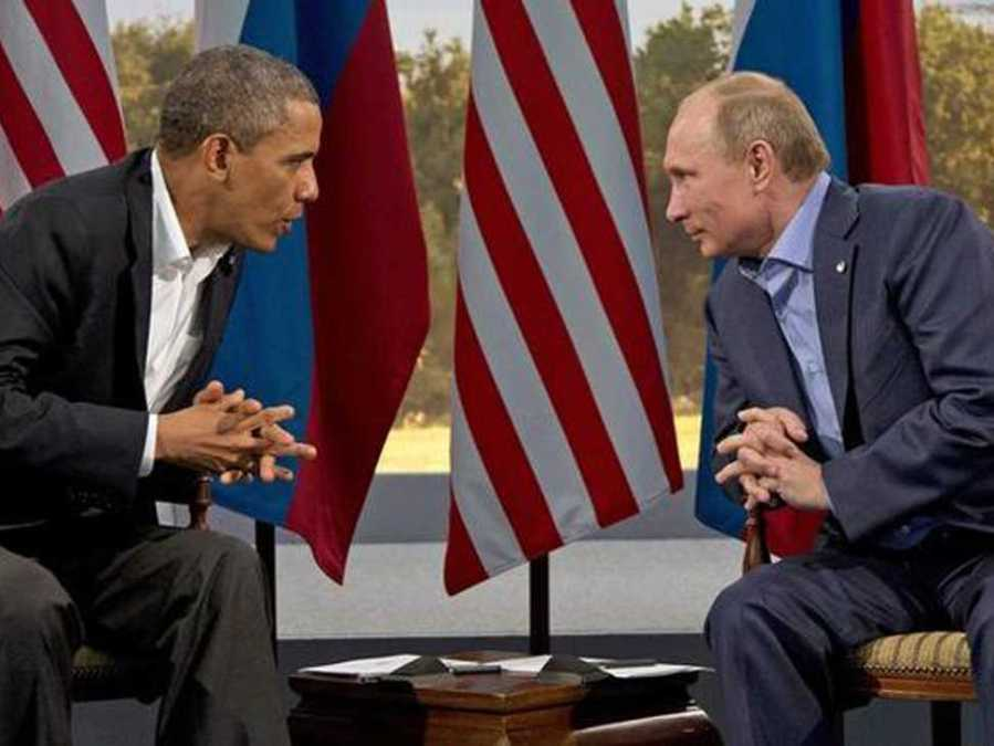 Either Obama and Putin will soon face a loss of credibility.