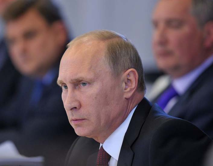 Vladimir Putin is not going to stop the US from sending missiles into Syria.