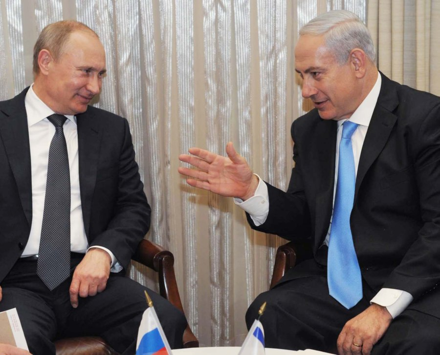 Putin should keep his hands of Israel, and let the Jews have the weapons of their choice.