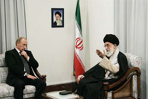 Vladimir Putin is arming the evil Ayatollah regime in Iran.