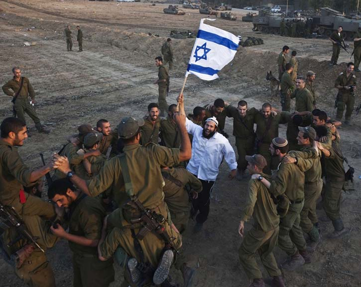 Jewish Zionist settlers have the right to live in Judah and Samaria.