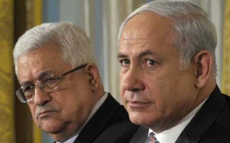 Benjamin Netanyahu is forced to make peace with a Holocaust denier, Abu Mazen.